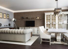 Дизайн-проект квартиры 130 кв.м в ЖК АКВАМАРИН
