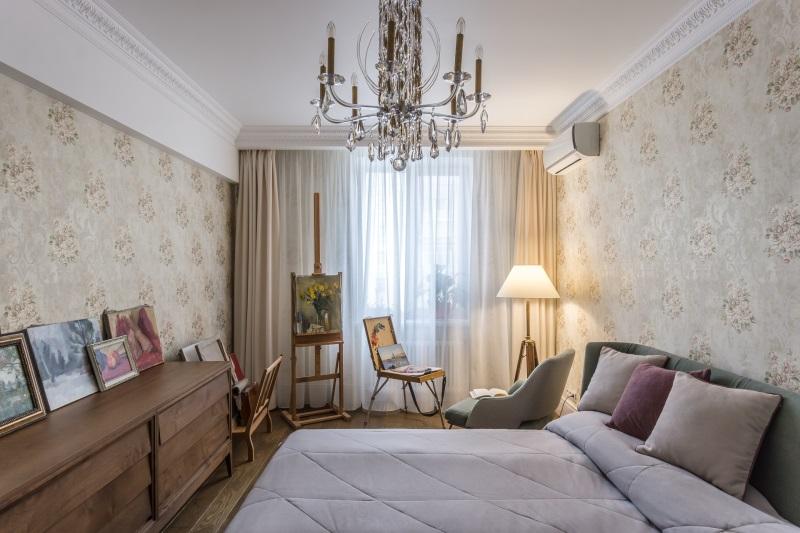 Интерьер спальни 4