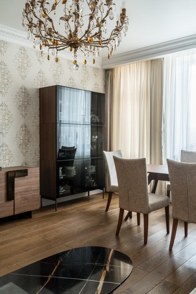 Интерьер гостиной Сокол
