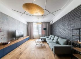 Дизайн-проект квартира 92 кв.м на Новопесчаной улице